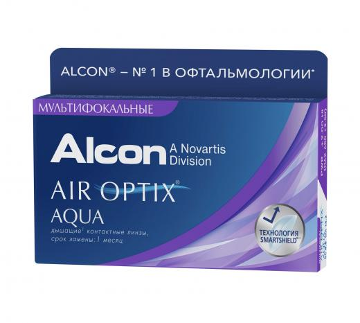 AIR OPTIX AQUA MULTIFOCAL (3 шт.)