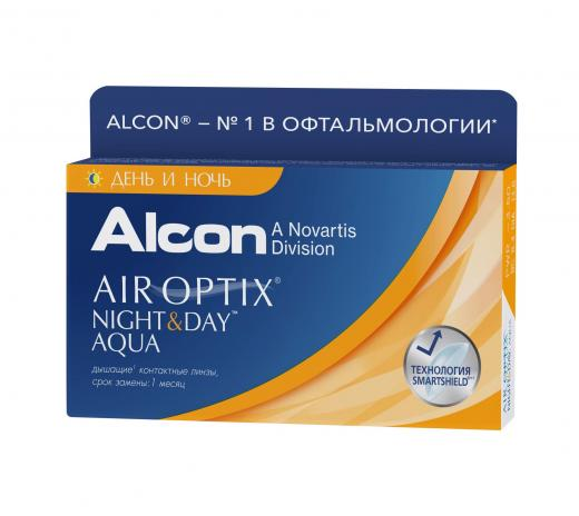 AIR OPTIX NIGHT & DAY AQUA (3 шт)