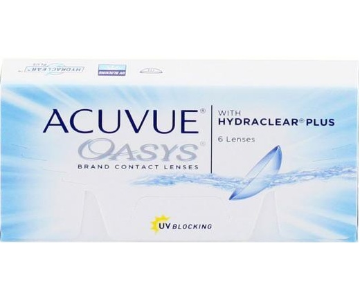 ACUVUE OASYS WITH HYDRACLEAR PLUS (6 шт.)