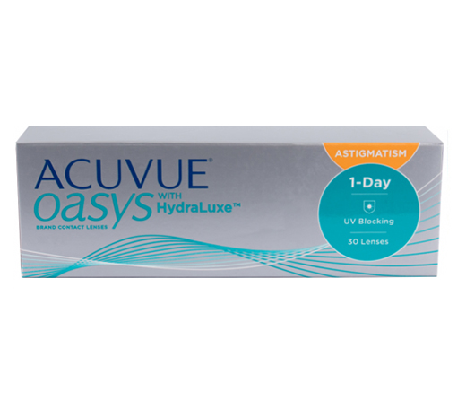 ACUVUE OASYS WITH HYDRALUXE FOR ASTIGMATISM (30 шт.)