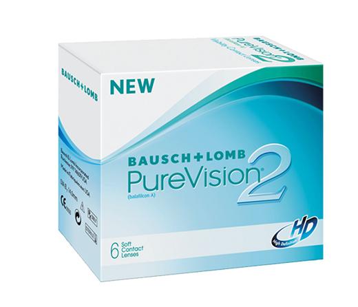 Линзы PureVision 2HD (6 шт.)