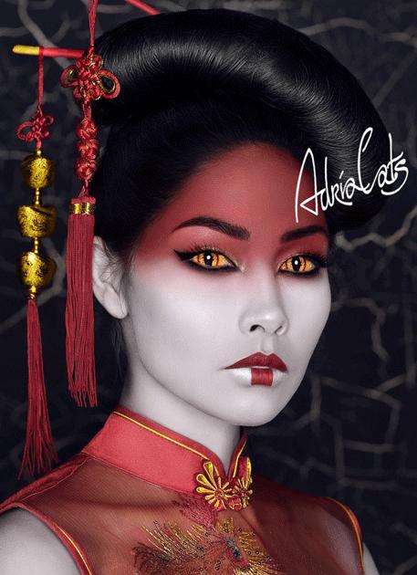 Adria Sclera Pro (1шт.) - Demon look