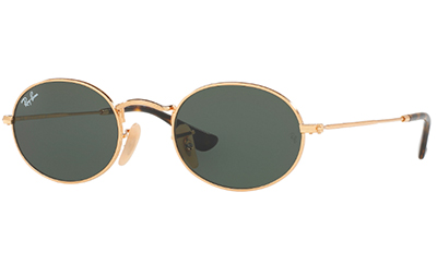 OVAL RB3547N - gold