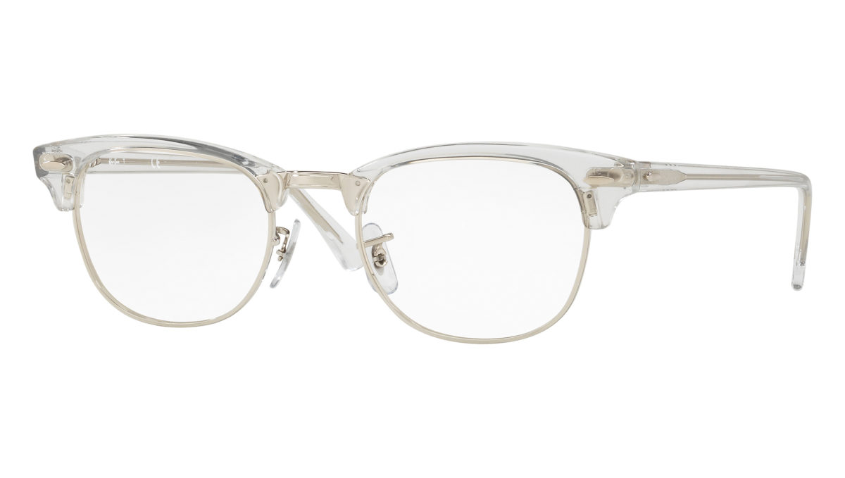 CLUBMASTER RB5154 - white transparent
