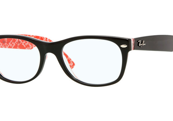 NEW WAYFARER RB5184 - black/red texture 2479