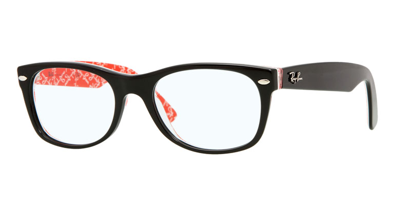 NEW WAYFARER RB5184 - black/red texture 2479