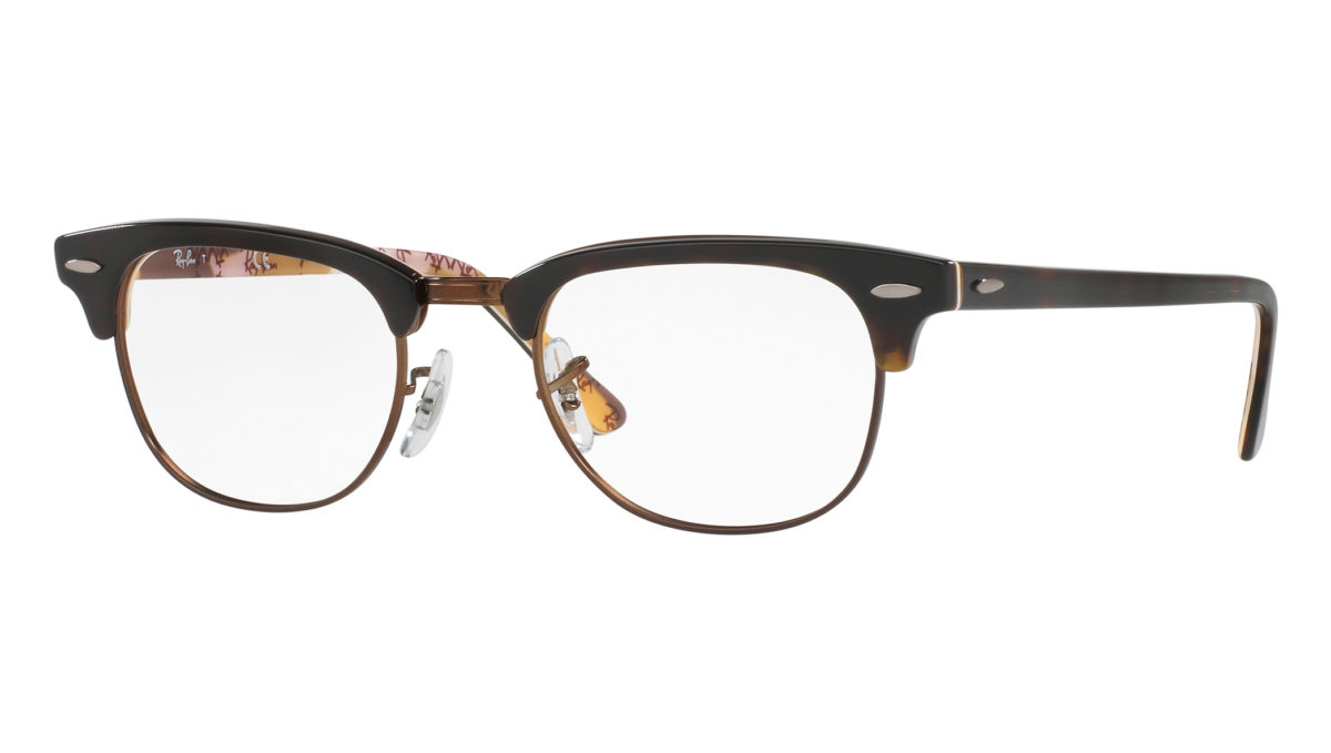 CLUBMASTER RB5154 - Havana on texture camouflage