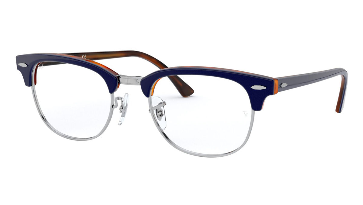 CLUBMASTER RB5154 - Top blue on havana red