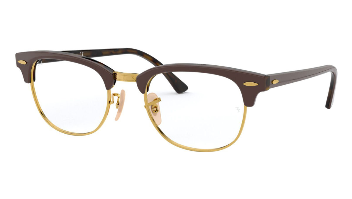 CLUBMASTER RB5154 - Top brown on havana yellow