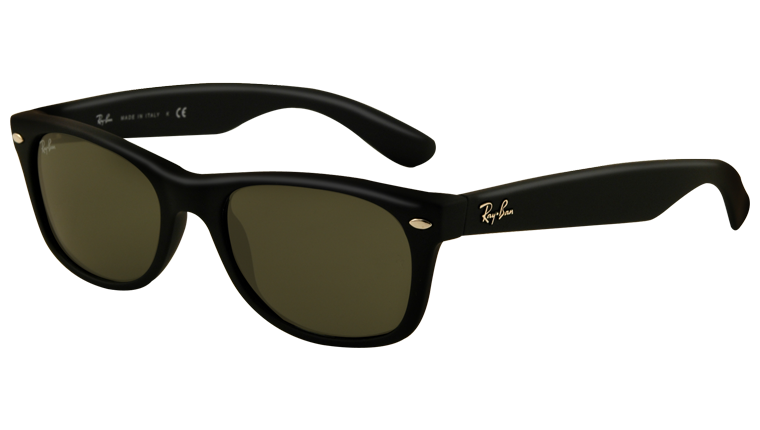 NEW WAYFARER RB2132 - black rubber