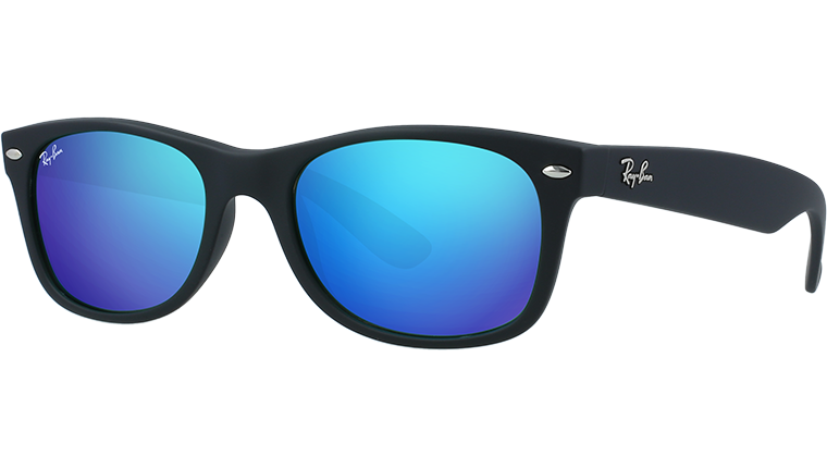 NEW WAYFARER RB2132 - rubber black