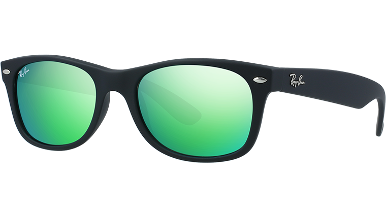 NEW WAYFARER RB2132 - rubber black 622/19