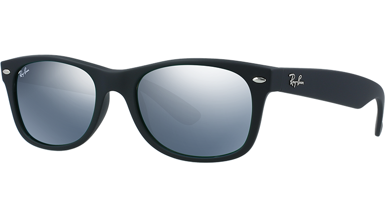 NEW WAYFARER RB2132 - rubber black 622/30