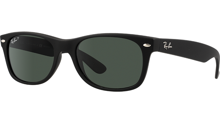 NEW WAYFARER RB2132 - rubber black 622/58
