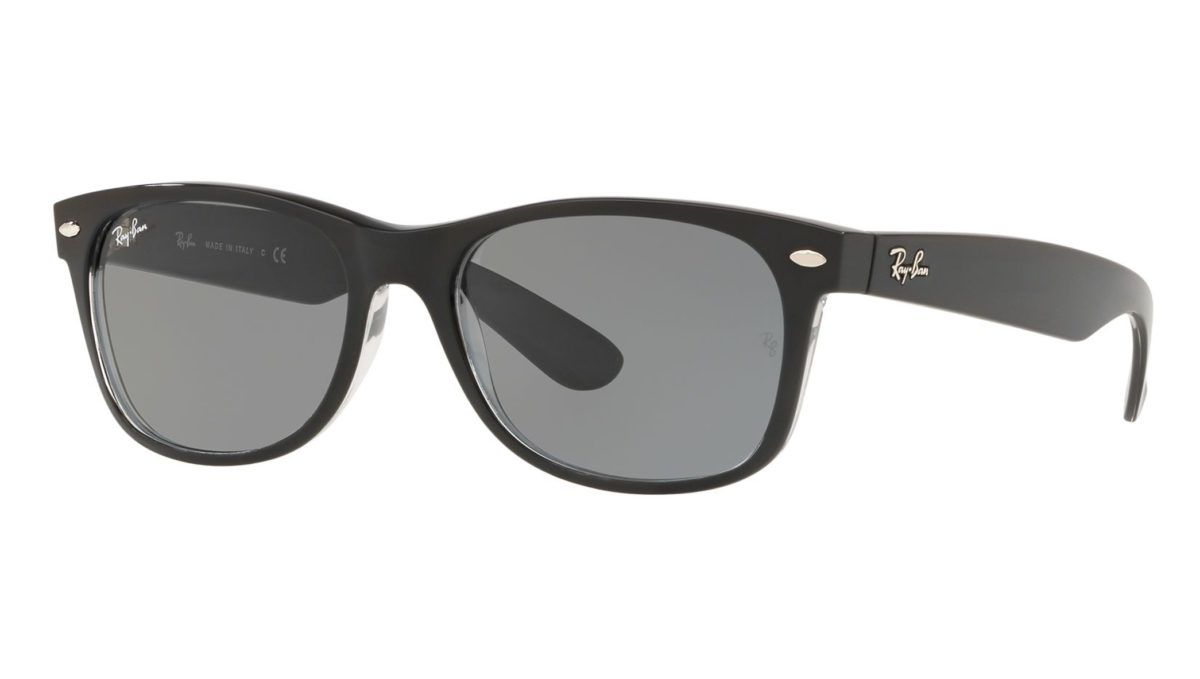 NEW WAYFARER RB2132 - black transparent