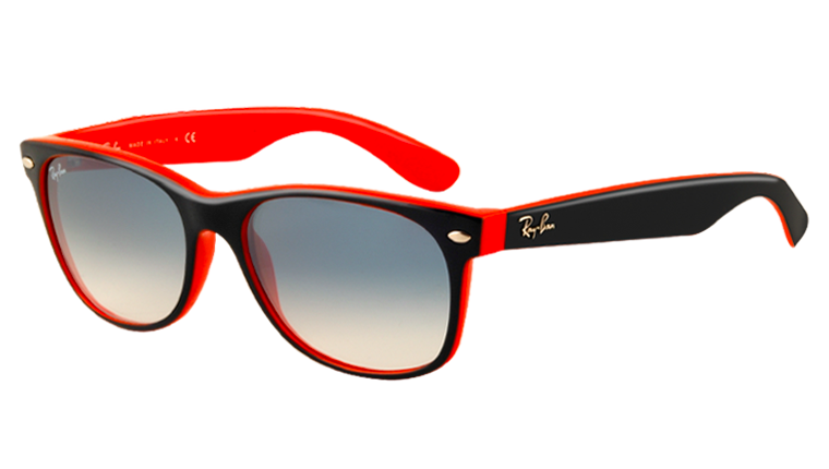 NEW WAYFARER RB2132 - top blue-orange