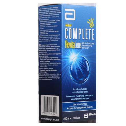 Раствор Complete RevitaLens 240 мл.