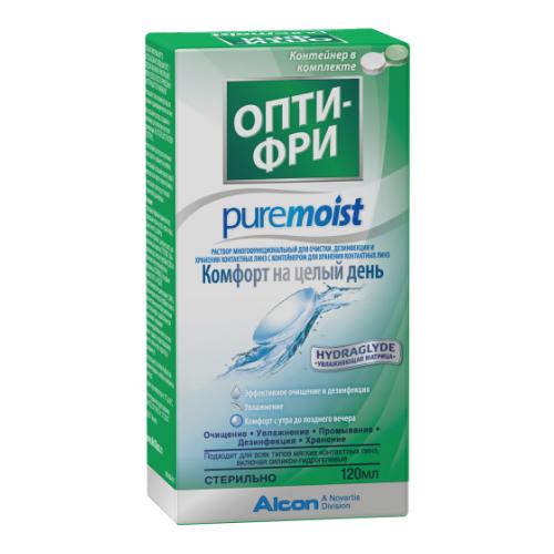 Раствор Opti-Free PureMoist 120 мл.